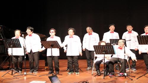 사회통합지원팀 종강식 합창반 공연 사진