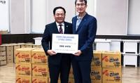 충청북도영동교육지원청 복지관에 후원물품 전달
