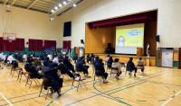 황간고등학교 재학생 대상 장애인식개선 교육 진행